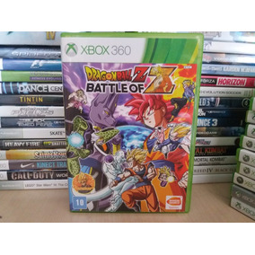 Jogo Dragon Ball Z Battle Of Z Xbox 360 Original Mídia