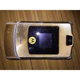 Motorola Razr V3i Dolce Gabbana Dorado Plateado Repuesto