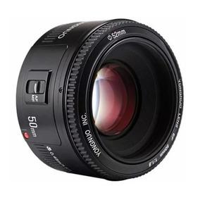 Lente Yongnuo 50mm Yn F1.8 Canon 70d T6i 7d 5d T5i 7d 6d T3i
