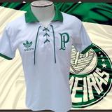 f67e34c27cbb0 Camisa Retro Palmeiras 100 Anos no Mercado Livre Brasil