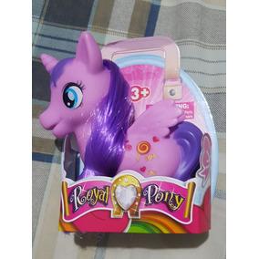 Pony Hermoso Juguete Pony Figuras De Goma 12cm