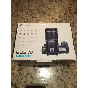 Cámara Digital Canon Eos 7d Con Caja,cargador, Lente
