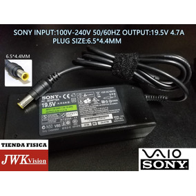Cargador Laptop Sony Original 19.5v 4.7a Plug6.5*4.44mm Jwk