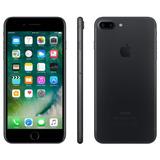 Iphone 7 Plus 128gb Black Matte / Preto Fosco - Classe A