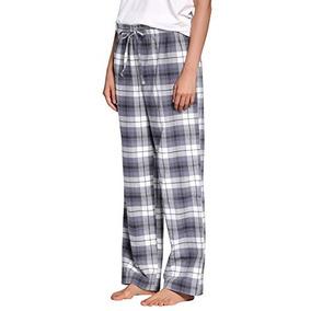 Mujer 100 Pantalón Algodón Franela xl F17012 Pijama Cyz qUXwfC