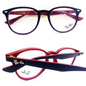 Óculos Redondo De Grau Cor Vinho - Óculos no Mercado Livre Brasil ec1369d3c5