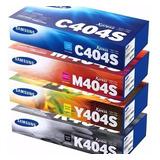 Combo Toner Samsung Juego Completo 404s Original C430w C480