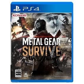 Jogo Metal Gear Survive Ps4