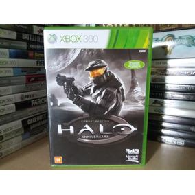 Jogo Halo Combat Evolved Anniversary Xbox 360 Original Mídia