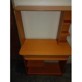 Mesa Para Computacion De Madera