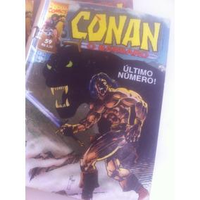 Conan O Bárbaro | Gibi/coleção | 1993 | Lote: Com 41 Gibis