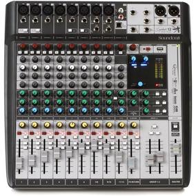Mesa De Som Soundcraft Signature 12mtk Usb Efeitos 12 Canais