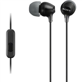 Fone De Ouvido Intra-auricular Preto Mdrex15ap Sony
