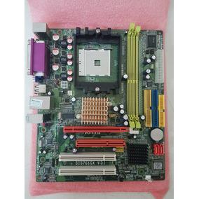 Placa Mãe 754 Skymedia Sis761gx V:3.1