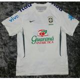 Camisa Treino Seleção Brasileira Branca no Mercado Livre Brasil bdd71d656dad6
