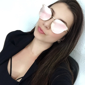 92181d8fb0843 Oculos Gatinho Rosa Retro - Óculos De Sol no Mercado Livre Brasil