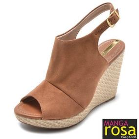 f0e656cf3 Sandalias Jc Calcados Anabela Moleca - Sapatos no Mercado Livre Brasil