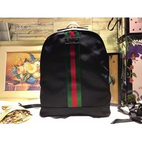 16c23de29 Mochila Gucci Piel - Mochilas Negro en Distrito Federal en Mercado ...