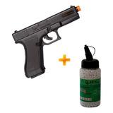 Kit Pistola Spring De Airsoft Glock G7 Kwc + 2.000 Bb