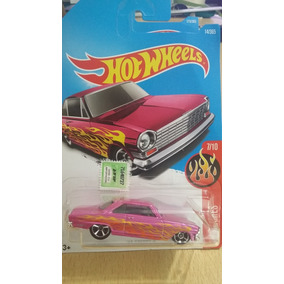 Hot Wheels 63 Chevy Ii 7/10 Hw Flames