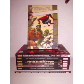 Kit Hqs Marvel Novos Vingadores Guerra Civil Entre Outros