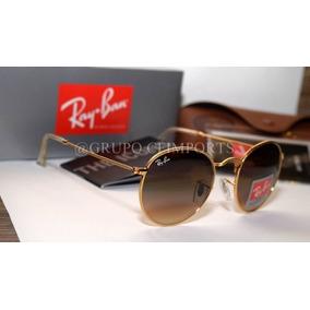 Oculos Ray Ban Masculino Marrom De Sol Round - Óculos no Mercado ... 6ee0b8fe53