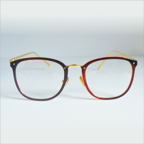 Oculos Sem Grau Feminino - Óculos Armações Marrom claro no Mercado ... 7dbed55e12