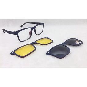 Óculos De Sol Clip On Imã Outras Marcas - Óculos no Mercado Livre Brasil 9eecd1fb17