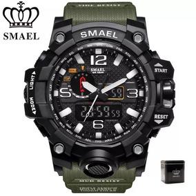 Relógio Smael Original Na Caixa Tático Resistente A Água