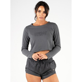 Polera Ease Cropped Sweater Ryderwear 100% Original