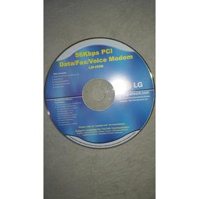 Manual 56kbps Pci Data/fax/voice Modem Lm-156n Frete Grátis
