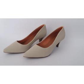 4eb551eaeb Scarpin Sapato Feminino Killana Marron - Calçados