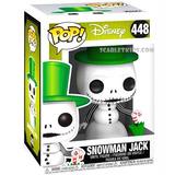 Funko Pop Snowman Jack 448 Original Disney Scarlet Kids