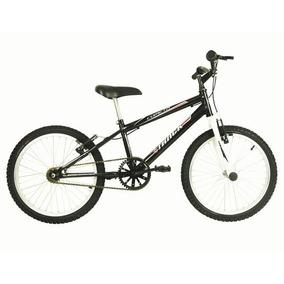 Bicicleta Juvenil Track E Bikes Cometa Aro 20 Preta/branca