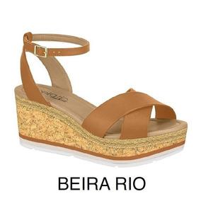 Sandália Feminina Anabela Beira Rio Conforto 8385.103