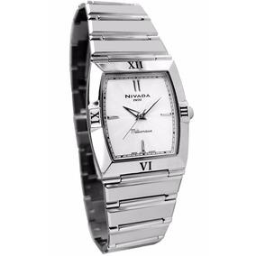 Reloj Nivada Swiss Millionaire Ng2990lacbi Plateado De Dama