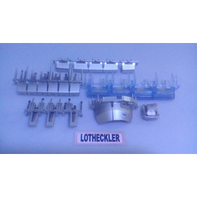 Kit Teclas Teclado Painel Frontal System Philips Fwc30/19
