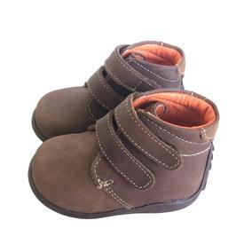 Zapatos Primeros Pasos Niños Bebés Café Andanenes