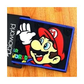 Billetera Tarjetero Carteras Super Mario Bros