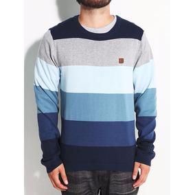 Dc Shoes Remate Chompa Rayas Sweater Original Importado Usa