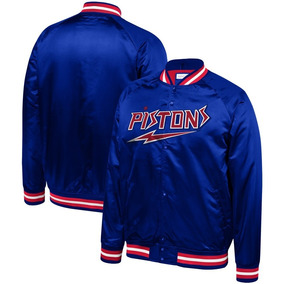 Casaca Men s Detroit Pistons Mitchell   Ness Royal. Lima f77c1f1a642a3