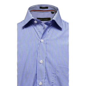 Camisas Hombre Tommy Hilfiger Rayadas - Ropa 14a6019450739