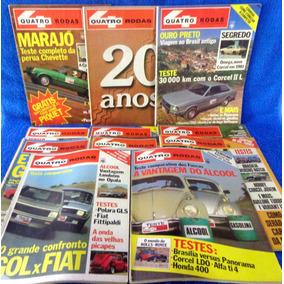 Lote Revista Quatro Rodas (11) N°244,245,234,242,243,241...