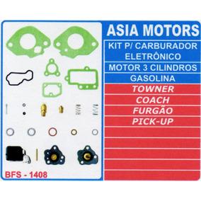 Kit Carburador Towner Coach, Furgão E Pick-up
