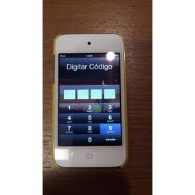 Ipod Touch 4a. Geração Wi-fi 16gb Branco + Case Angry Birds