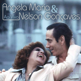 Cd Angela Maria & Nelson Gonçalves Ao Vivo - Digipack