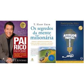 Atitude Mental Positiva + Pai Rico Pai Pobre + 1 Livro