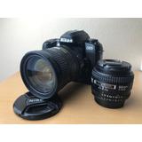 Oportunidad Nikon D100 + 50mm 1.4 + 18-200 Vr Ii