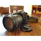 Nikon D600 + Lente Af-s Nikkor 28-300mm 1:3.5-5.6 G Vr
