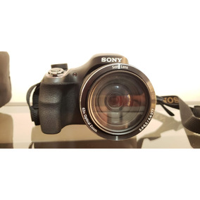 Câmera Semi Profissional Sony Cyber-shot Dsc-h400. Completa!